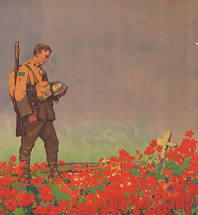 With Poppies to Remember Them